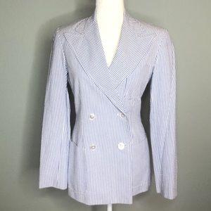 Ralph Lauren vintage blue label stripe blazer